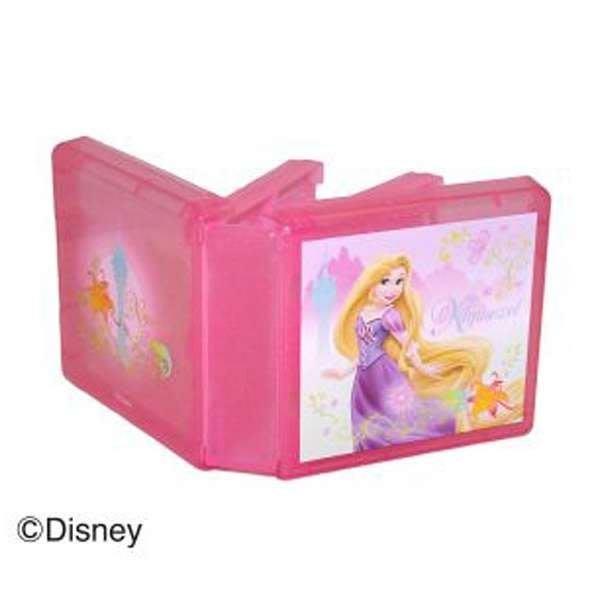 New3DSLL 任天堂授權 迪士尼授權 魔髮公主 長髮公主 16入卡帶盒 閃亮金蔥粉 【板橋魔力】