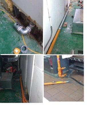 天然瓦斯配管瓦斯爐具配管自動遮斷器營業用瓦斯緊急遮斷器暗管漏氣檢查