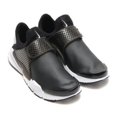 Nike SOCK DART SE  黑白 皮革 襪套 防水 機能布  男鞋 911404-001 US10