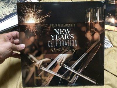 全新歐版 wiener philharmoniker New Year's Celebration 黑膠唱片 黑膠 LP