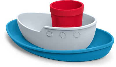 美國Fred & Friends輪船造型餐具三件組(Tug Bowl - Children's Dinner Set)