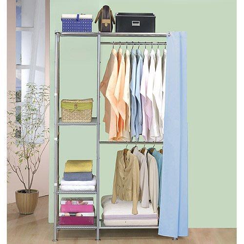 【中華批發網DIY家具】D-66-01-W2型60公分+W4型34公分衣櫥櫃-(前罩)不織布