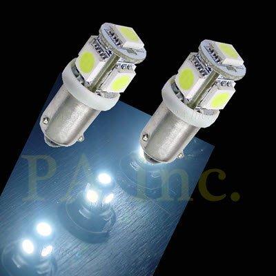 【PA LED】Audi 奧迪 A4 B6 小燈 定位燈 BAX9S 斜角 5晶 15晶體 SMD LED 白光