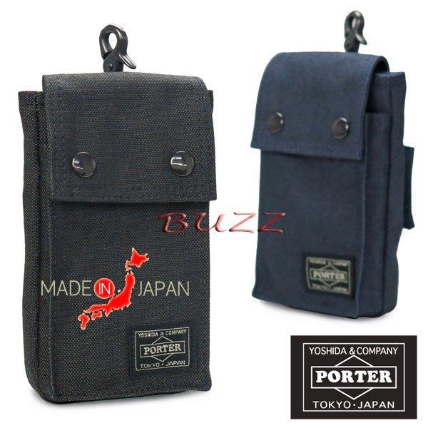 巴斯 日標PORTER屋-二色預購 PORTER SMOKY手機袋 592-09988
