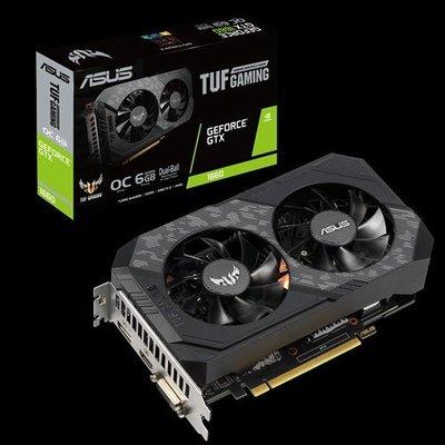 【全新附發票】ASUS TUF-GTX1660-O6G-GAMING 顯示卡