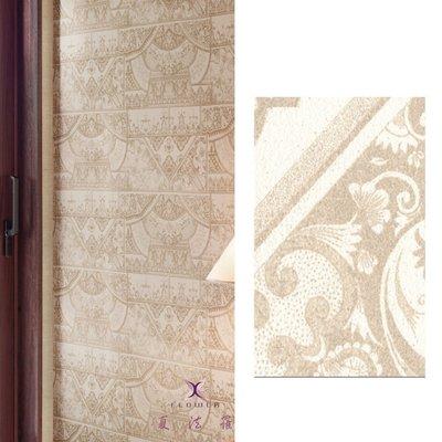 【夏法羅 窗藝】日本進口 奢華貴氣圖騰 復古 壁紙 BB_131283