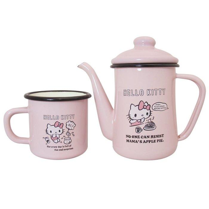 41+ 現貨不必等 正版授權 絕版品 Hello Kitty 凱蒂貓 手沖壼組KS-8162KT my4165