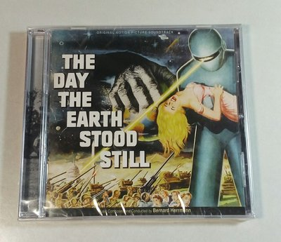 """地球末日記(The Day the Earth Stood Still)""- B Herrmann,全新美版*,36"