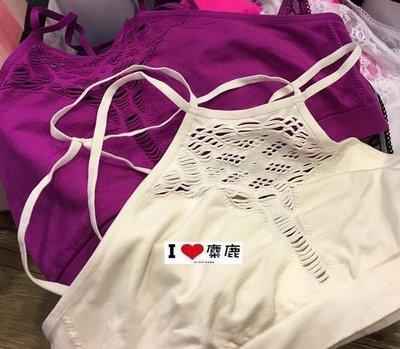 A&F Victoria's Secret 副牌pink 內搭小可愛 紫色款 我愛麋鹿 AF 正品專賣店