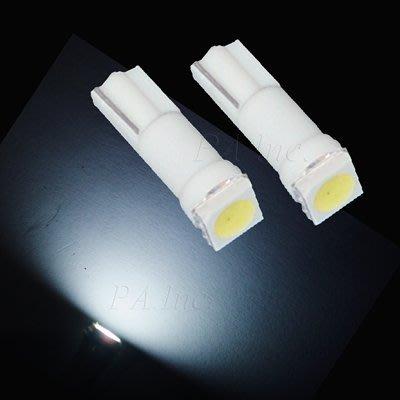 【PA LED】T5 T6.5 SMD LED 白光 排檔燈 儀表燈 儀表指示燈 中控燈 冷氣燈 面板燈 檔位燈