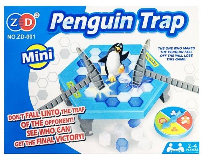 2017 超夯桌遊/益智遊戲 企鵝破冰/企鵝冰塊/企鵝敲冰塊 Penguin Trap Mini版
