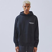 [DJS LIFESTYLE] FEAR OF GOD FOG ESSENTIALS LOGO PULLOVER HOODIE SWEATER (SIZE L)