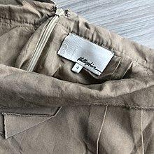 3.1 phillip lim100%純絲駝色造型裙