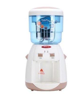 ZIHOPE 220V 飲水機臺式家用溫熱過濾凈化一體迷你型辦公室桌面立式自來水ZI812