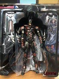 【南部總代理】Play Arts 改 DC COMICS BATMAN 紅色限定蝙蝠俠 蝙蝠俠 美國隊長 蜘蛛港