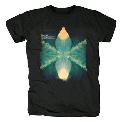 Bonobo-The North Borders專輯英國電子音樂歐美流行搖滾純棉T恤
