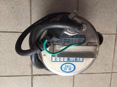 汚水泵不鏽鋼材規格照片標註