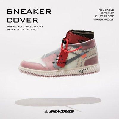 【Admonish】 SNEAKER MOB  雨天救星 鞋套 全黑色 白色 彈性矽膠 球鞋雨套 止滑 雨鞋 防水