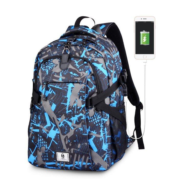SX千貨鋪-韓版新款時尚旅行背包潮流個性校園男女雙肩包中學高中學生書包男#男士背包#書包#單肩包#書包