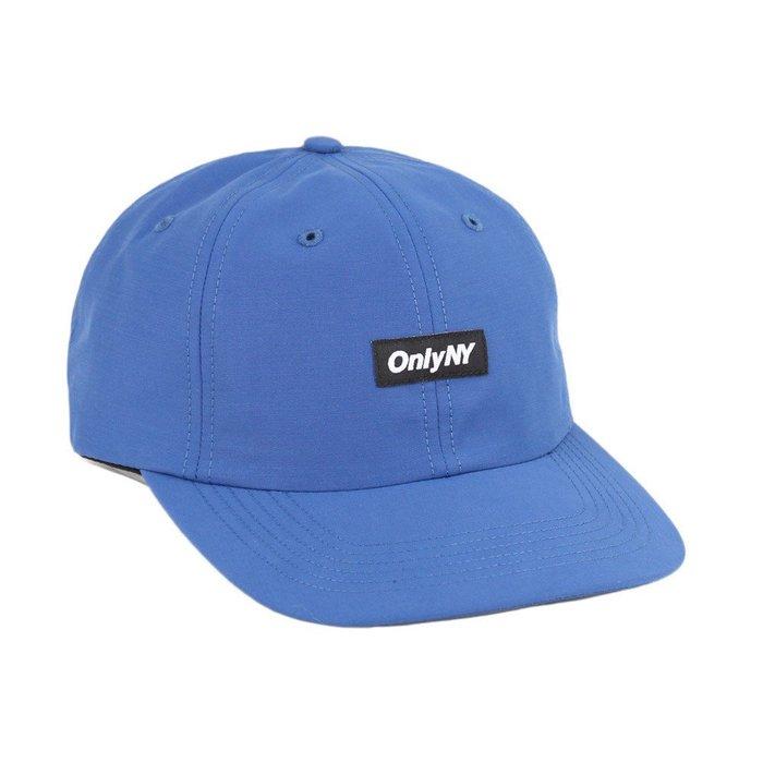 { POISON } ONLY NY TECH POLO HAT  日本棉混面料調節帶老帽棒球帽 美國製 海洋藍