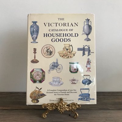 (年代秀)絕版 維多利亞時期家居用品圖鑑 Victorian Catalogue of Household Goods 二手進口原文書