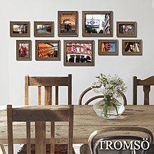 TROMSO經典相框牆10框 / 實木【M0308999】照片牆 相片牆 牆面布置 回憶牆 大樹小屋 可搭配時鐘 B12