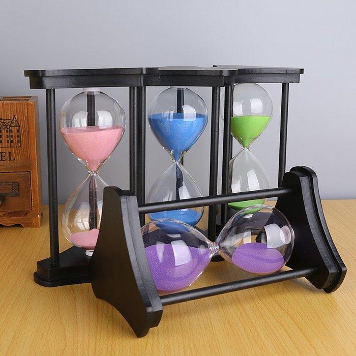 奇奇店-沙漏計時器30/45/60分鐘生日禮物兒童創意辦公室擺件家居裝飾品小