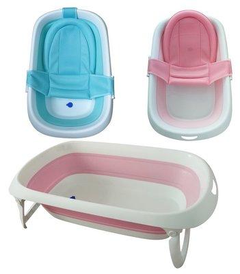 幸運兒 小河馬可攜式摺疊浴盆 買就送加厚兩用浴網 數量有限行動要快