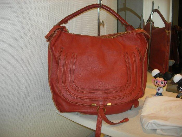 典精品 Chloe 真品 大款 Marcie 彎月包 半月包 單 肩背包 側背包 現貨