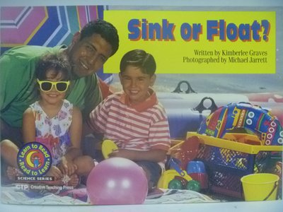 【月界二手書店】Sink Or Float?-Read to Learn 〖少年童書〗CEP