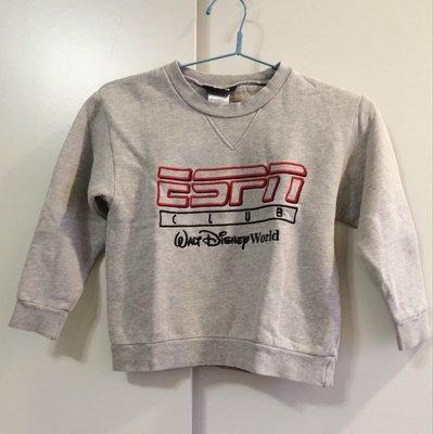 『好夠讚』非 1元 一元起標 無底價 秋冬 極新 ESPN 男童 女童 小孩 兒童 長袖 好搭配 上衣 只售99元