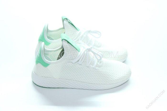 【高冠國際】Adidas Originals x Pharrell Williams HU 粉綠 BY8717