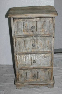 INPHIC-仿舊實木櫃子仿舊斗櫃