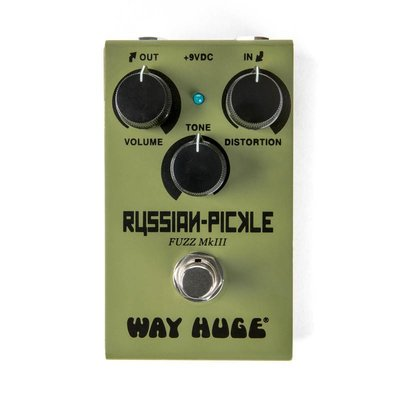 【成功樂器 . 音響】WAY HUGE SMALLS RUSSIAN-PICKLE Fuzz MKIII 經典 破音