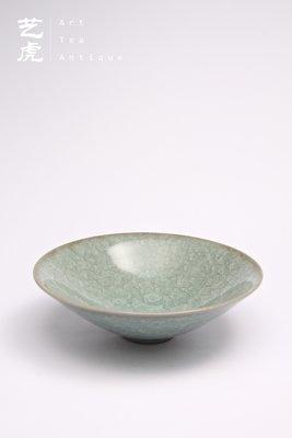 【艺虎文人】蔡曉芳窯 早期冰裂青瓷碗 / 蘇保在 / 陳九駱 / 章格銘