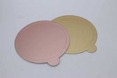 烘焙倉庫 蛋糕金盤圓形180MM 紙托蛋糕盤
