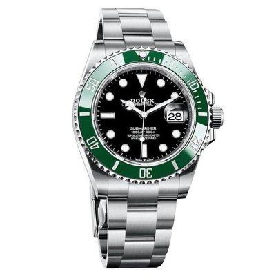 【玩錶交流】全新品 ROLEX 126610 LV Submariner 綠水鬼 41mm 2021/9月