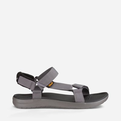 WaShiDa【SANBORN】TEVA 美國品牌 夏日 運動 經典 多點式 調整 織帶 水陸 涼鞋 灰色