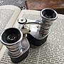 法國古董菱形皮革歌劇望遠鏡