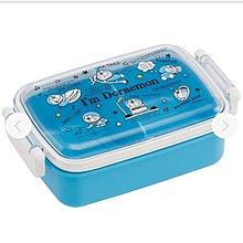 (現貨) 日本製 聚丙烯 450ml 約17x10.5x6cm  兩側開合 密實 長方型 餐盒 Doraemon 叮噹 多啦A夢 日本直送 全新品