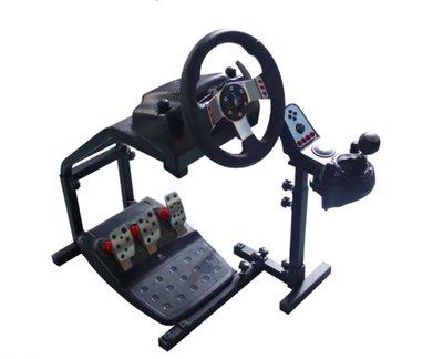 【小曖優品】VR賽車遊戲方向盤座椅支架 羅技 g29 G27 GT6 GT5 G920等方向盤 XA9.506