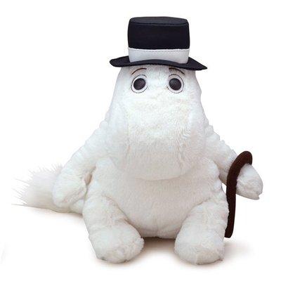 尼德斯Nydus~* 日本正版 嚕嚕米 Moomin 姆明 絨毛玩偶 娃娃 紳士帽 約20cm