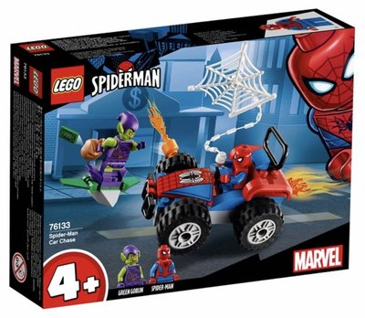 Lego Super Heroes 76133 Spider-Man Car Chase 2019 52 pcs