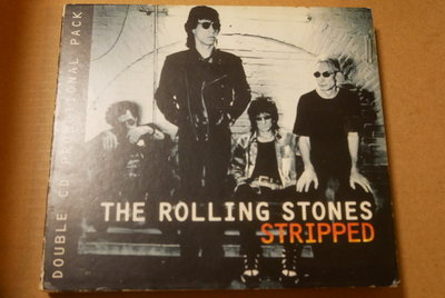 The Rolling Stones滾石合唱團Stripped Like A Rolling Stone Angie雙碟