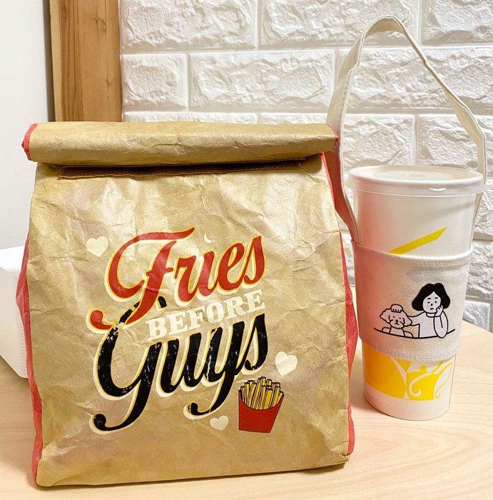 DAFA 薯條保冰袋 杜邦紙保冰袋 保溫袋 保冷袋 早餐袋 午餐袋 野餐袋 現貨~~