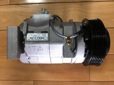 全新 Toyota豐田 Previa 01-06 3.0、RAV4 01-05 原廠冷氣壓縮機 保固2年6公里