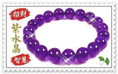 ☆虎亨☆ 【頂級烏拉圭紫水晶手鍊】10mm