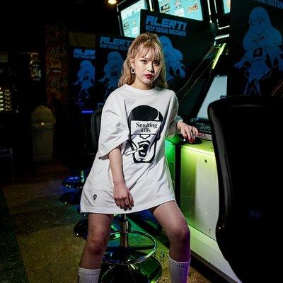 [PDS x #FR2]Aitsu那傢伙アイツ Smoking kills TEE / 黑白 Punk Drunkers