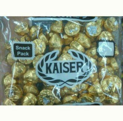 台灣 Kaiser 甘百世 凱莎巧克力 milk chocolate 金色/ 1包/ 425g 新北市