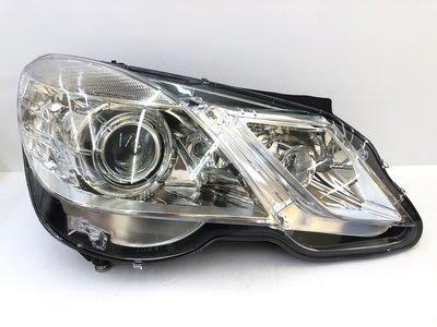 炬霸科技 車燈 W212 原廠 型 大燈 頭燈 HID AFS 魚眼 轉向 輔助燈 09-13年 E300 E350